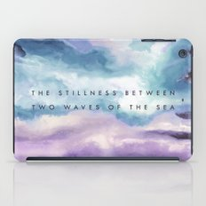 Stillness [Collaboration with Jacqueline Maldonado] iPad Case