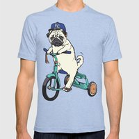 Royals Pug Mens Fitted Tee Tri-Blue SMALL