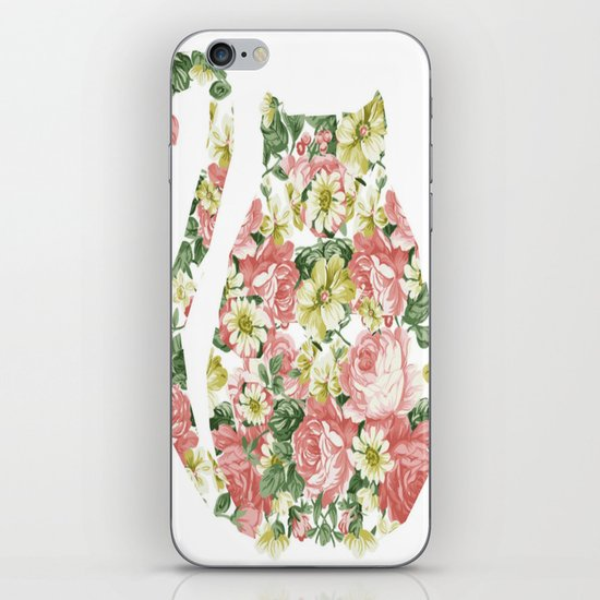 Garden Cat iPhone & iPod Skin