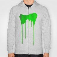 Green Splatter Hoody