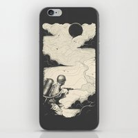 Sky Thrower iPhone & iPod Skin
