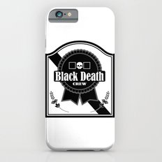 Black Death Ribbon Slim Case iPhone 6s