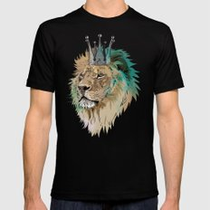 The King Mens Fitted Tee Black SMALL