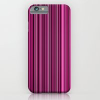 Pink Stripes iPhone 6 Slim Case
