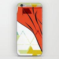 Dearg iPhone & iPod Skin