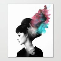 Friday, I'm in love. Canvas Print