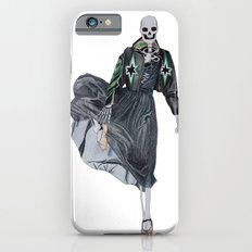 leather & ballet skeleton iPhone 6s Slim Case