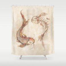 Yin Yang Fish Shower Curtain