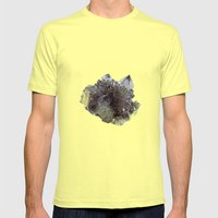Mineral Mens Fitted Tee Lemon SMALL