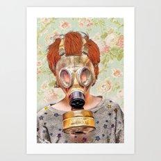 Atomic Art Print