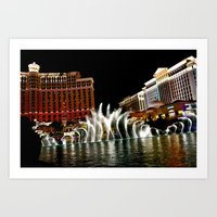 Vegas Art Print