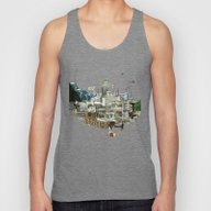 Collage City Mix 7 Unisex Tank Top