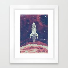 Space Adventure Framed Art Print