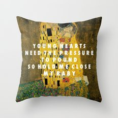 Don't Kiss Throw Pillow