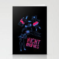 Night Moves Stationery Cards