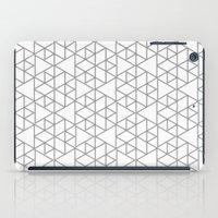 Karthuizer Grey & White Pattern iPad Case