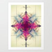 The Cross of Eternity Nebula Art Print
