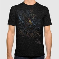 The Contest Mens Fitted Tee Tri-Black SMALL