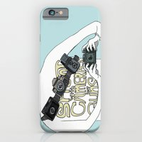 iPhone & iPod Case featuring Shoot with cameras not guns by Mitchel Kamakani