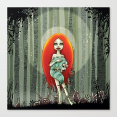 Forest fairey Canvas Print
