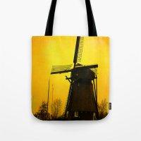 Dutch Windmill Tote Bag