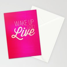 Don't waste it.  Stationery Cards