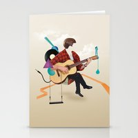 ILOVEMUSIC #1 Stationery Cards