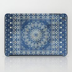 Old Bookshop Magic Mandala in Blue iPad Case