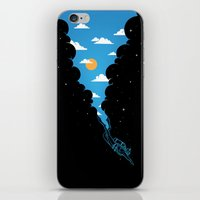 Skydiver iPhone & iPod Skin