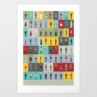 Hall Of Heroes Art Print
