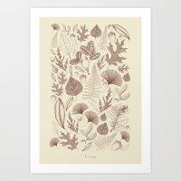 Study of Growth Art Print