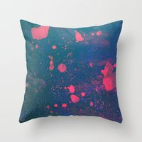 Untitled 20110307a (Abst… Throw Pillow