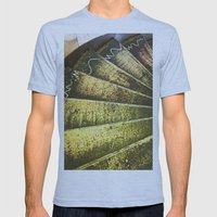 The Artist's Staircase Mens Fitted Tee Athletic Blue SMALL