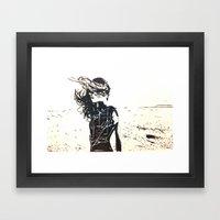In The Wind Framed Art Print