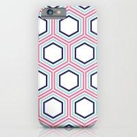 Honeycomb Geometric Patt… iPhone 6 Slim Case