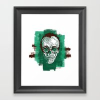 Keith POSTportrait Framed Art Print