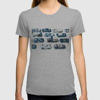 Its A Parking Lot Out Th… Womens Fitted Tee Athletic Grey SMALL