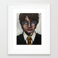 The Boy Who Lived Framed Art Print