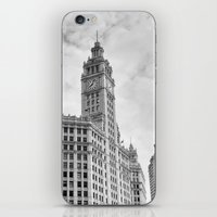 Chicago Iconic Wrigley B… iPhone & iPod Skin