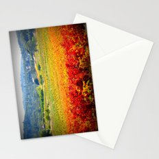 autumn vineyard Stationery Cards