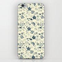 Birds N Flowers iPhone & iPod Skin