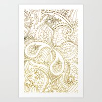 Flower Butterfly - for iphone Art Print