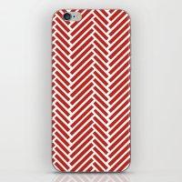 Herringbone Candy iPhone & iPod Skin