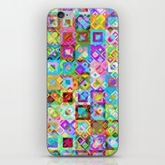 Multicolor Geometric Pattern iPhone & iPod Skin
