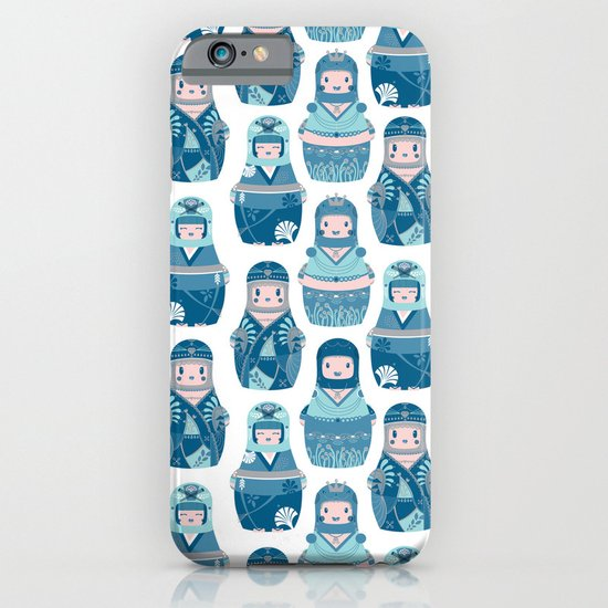 Matrioshkas Pattern iPhone & iPod Case