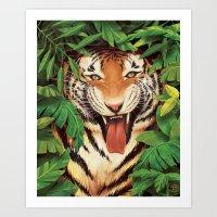Guardian Of The Jungle Art Print