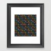I [heart] Nostalgia Framed Art Print