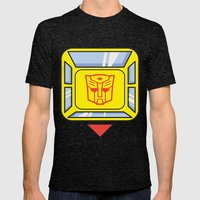 Transformers - Bumblebee Mens Fitted Tee Tri-Black SMALL