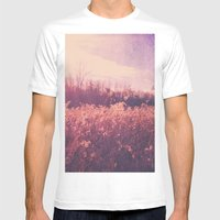 Field Of Dreams Mens Fitted Tee White SMALL