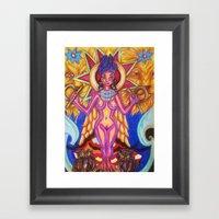 Ishtar Framed Art Print